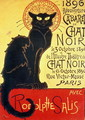 Reopening of the Chat Noir Cabaret, 1896 - Theophile Alexandre Steinlen
