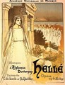 Reproduction of a poster advertising the opera Helle, performed by the Academie Nationale de Musique, 1896 - Theophile Alexandre Steinlen