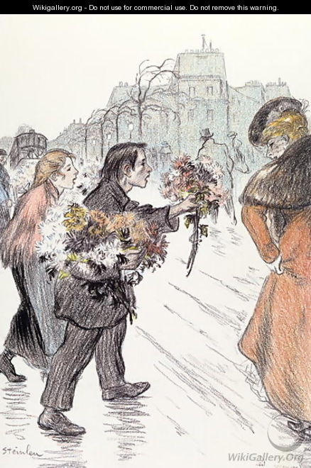 The Down-and-Outs, 1896 - Theophile Alexandre Steinlen