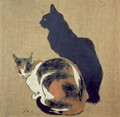 Two Cats, 1894 - Theophile Alexandre Steinlen