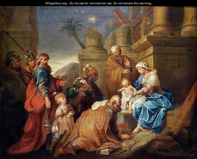 Adoration of the Magi - Jacques Stella