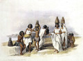 Nubian Women at Kortie on the Nile, from Egypt and Nubia, Vol.1 - David Roberts