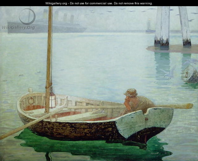 The Outward Bound, 1912 - Frederick Cayley Robinson