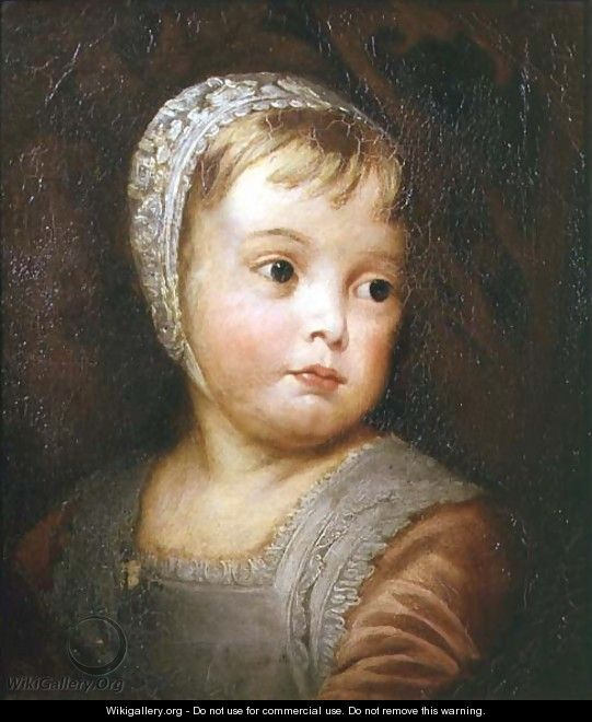 King James II as a Child, after Van Dyck - Thomas Robson