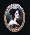 Portrait miniature of Georgina Carolina, Lady Astley, c.1827 - Simon Jacques Rochard