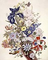 Mixed flowers in a cornucopia, c.1768 - Thomas Robins
