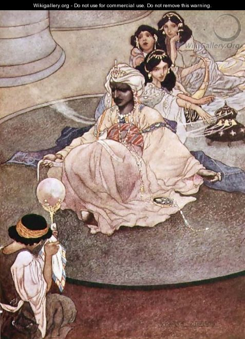 The King of the Mountains of the Moon, 1913 - Charles Robinson