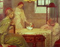 In the Depth of Winter - Frederick Cayley Robinson