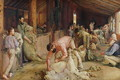 Shearing the Rams, 1890 - Thomas William Roberts