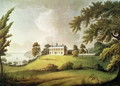 Mount Vernon, Virginia, home of George Washington, engraved by Francis Jukes 1745-1812 1800 - (after) Robertson, Alexander