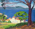 The Gulf of St. Tropez, 1935 - Andre Roberty