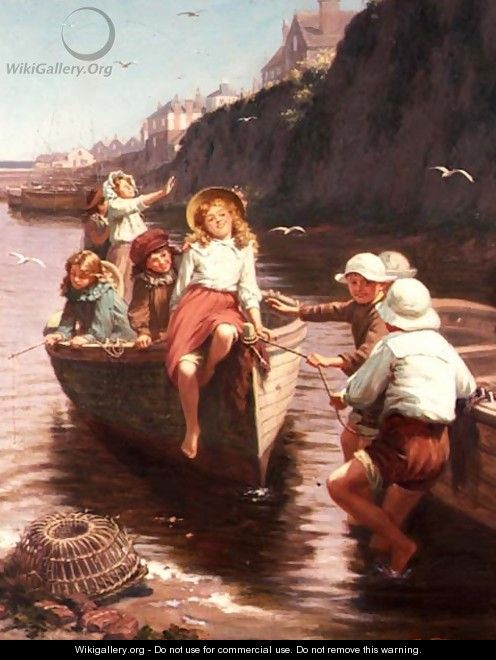 The Boating Party - Edwin Thomas Roberts