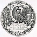 Portrait of George Clifford 1558-1605 3rd Earl of Cumberland, engraved by the artist, c.1590 - William Rogers