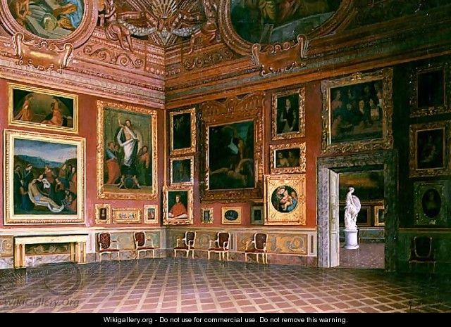 Interior in the Medici Palace - M. Romani