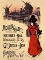 Poster advertising the Moulin de la Galette, 1896 - Roedel