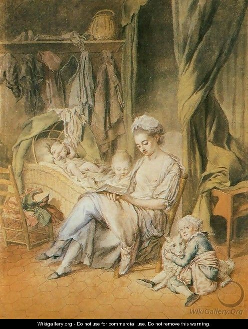 The Happy Mother c. 1775 - Johann Anton de Peters