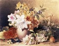 Flowers and a Birds Nest - Frances Elizabeth Rosenberg