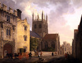 Merton College, Oxford, 1771 - Michael Angelo Rooker