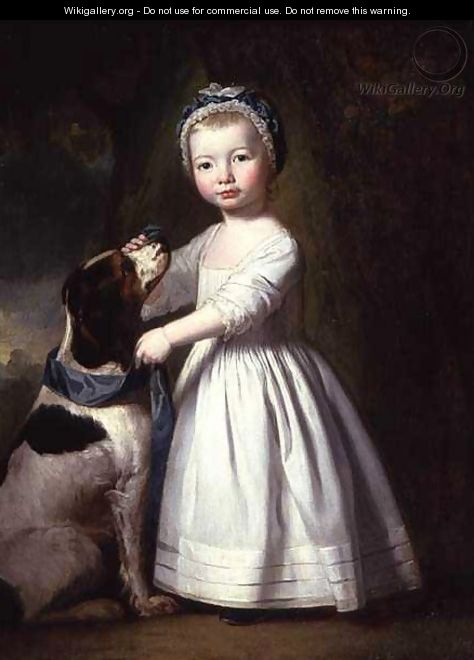 Little Boy with a Dog, c.1757 - George Romney