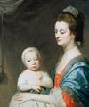 Mrs Marton and her son Oliver - George Romney