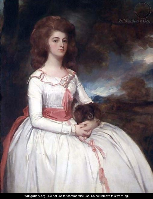 Portrait of Mrs. Moody - George Romney