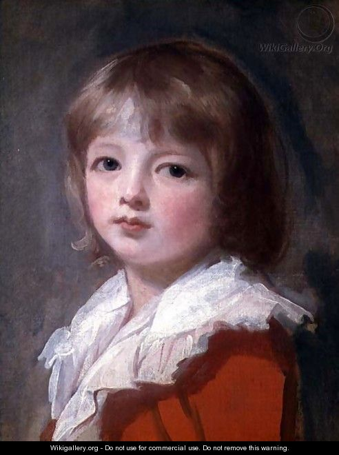 Portrait of a boy - George Romney