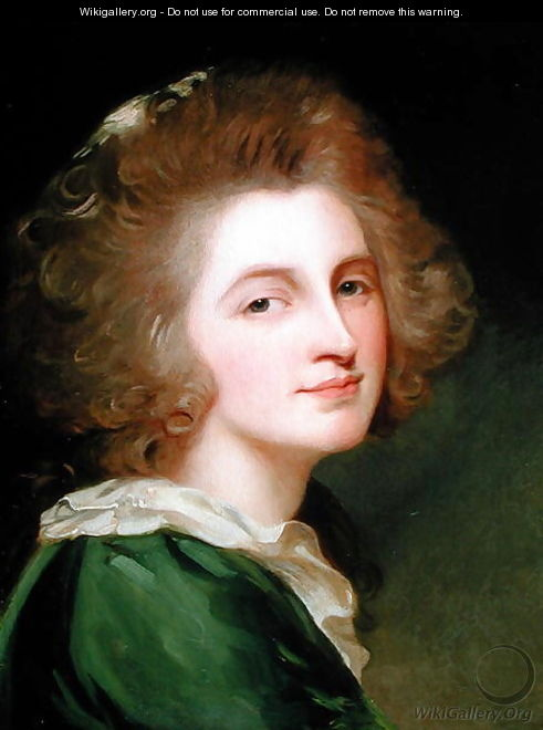 Portrait of Ann Barbara Russell - George Romney