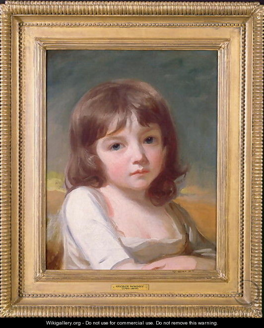 Portrait of a Girl - George Romney