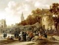 The Village Fair - Salomon Rombouts