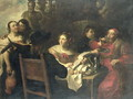 The Rich Mans Feast - (circle of) Rombouts, Theodor