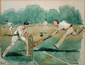 The Month of July Cricket - George Derville Rowlandson
