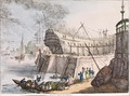 Perrys Dock at Blackwall - Thomas Rowlandson