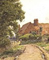 A Hampshire Farmhouse near Steep - Ernest Arthur Rowe