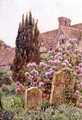 Church Yard, Chiddingstone - Ernest Arthur Rowe