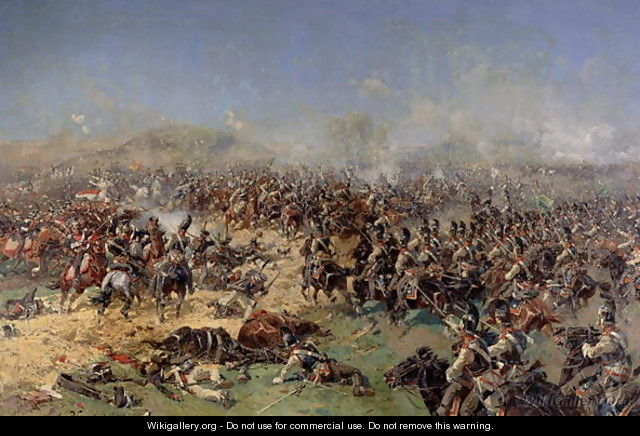 Battle of Borodino on 26th August 1812, 1913 - Franz Roubaud