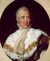 Portrait of Charles X 1757-1836 King of France - Georges Rouget