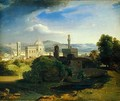 View over Florence, c.1829 - Carl Rottmann