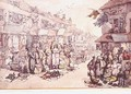 The Rag Fair - Thomas Rowlandson