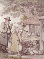 Molly Moggs and the Vicar - Thomas Rowlandson