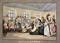 The Public Breakfast, plate 11 from Comforts of Bath, 1798 - Thomas Rowlandson