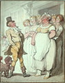 The Kings Place - Thomas Rowlandson
