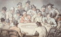The Gaming Table - Thomas Rowlandson