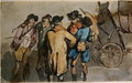A Group of Figures - Thomas Rowlandson