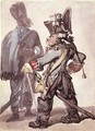 No.2160 Frederick the Great 1712-86 and One of his Officers - Thomas Rowlandson