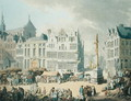 Place de Mer at Antwerp - Thomas Rowlandson