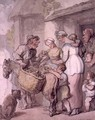 The Apple Vendor: Baking and Boiling Apples - Thomas Rowlandson