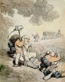 Light Infantry Volunteers, 1804 - Thomas Rowlandson