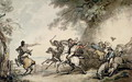 The Chase of the Highwayman, c.1790 - Thomas Rowlandson