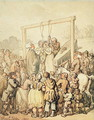 An Execution, 1803 - Thomas Rowlandson
