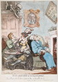 The Anatomy of Melancholy, published by R. Ackermann, 1st March 1808 - Thomas Rowlandson